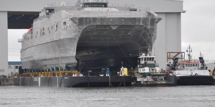 OceanHub   U S  Navy welcomes high-speed catamaran fleet