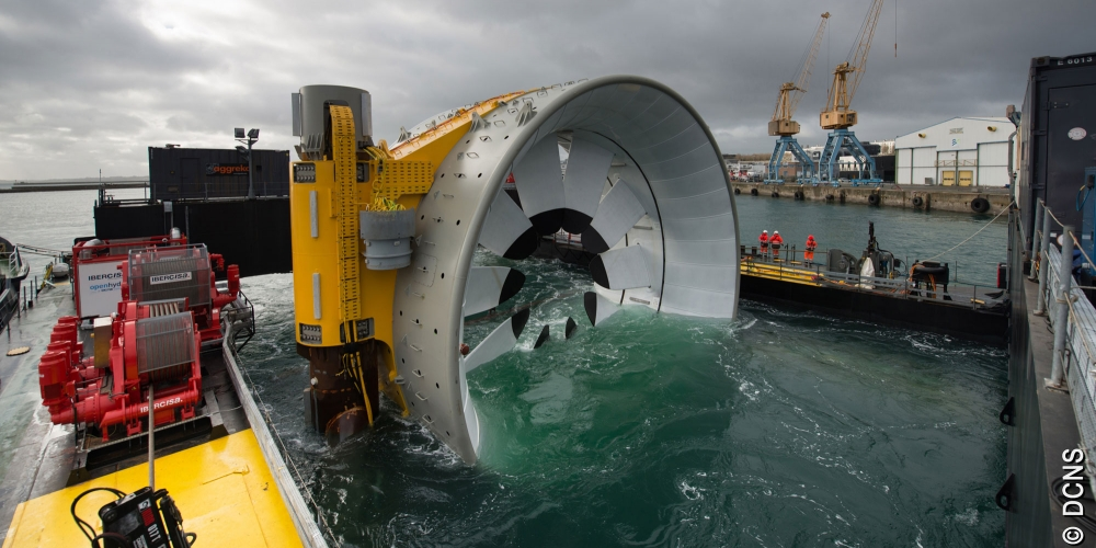 OceanHub | Inauguration of the second tidal turbine for the